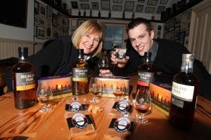 Orkney Fudge Highland Park launch
