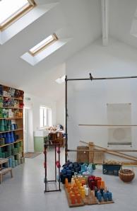 Hoxa Tapestry Gallery studio view