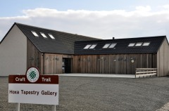 Newly extended Hoxa Tapestry Gallery, Orkney