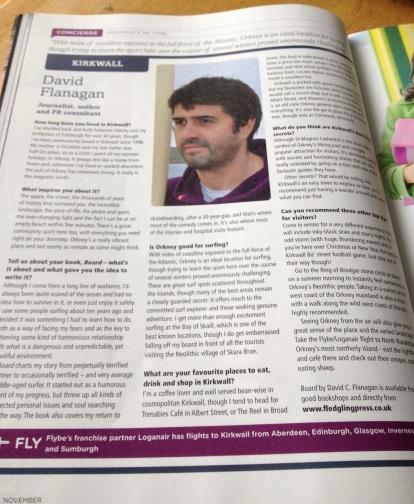 Flybe's Flight Time magazine