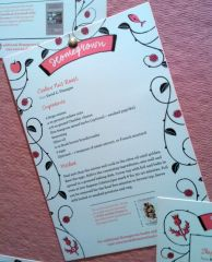 Homegrown recipe card