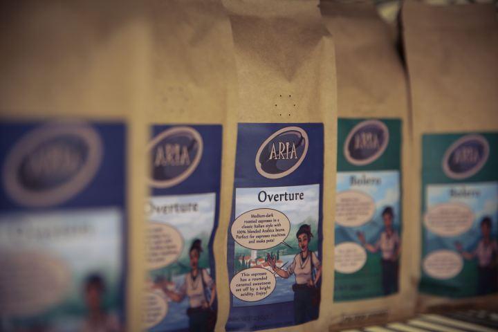 Orkney Roastery, Aria brand coffee