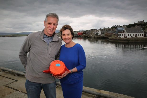 The Island Smokery - Orkney Butter. Callum and Fiona MacInnes. Pic by Fionn McArthur, Orkney.com.jpg