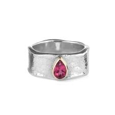Alison Moore pink tourmaline jorinda ring