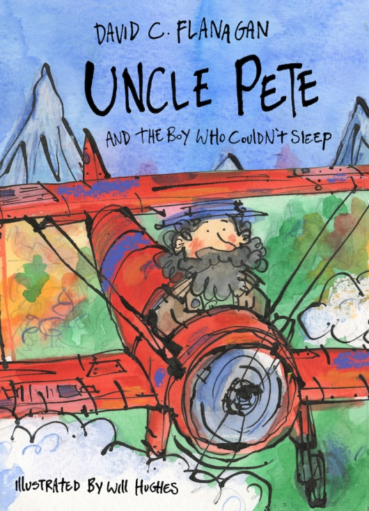 Uncle Pete and the Boy Who Couldn't Sleep - 9781916205437 - COVER